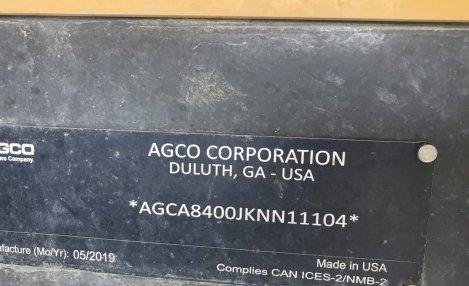 2019 TG TG8400C
